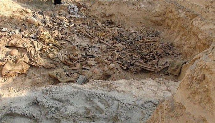 Под зданием школы обнаружили 145 могил