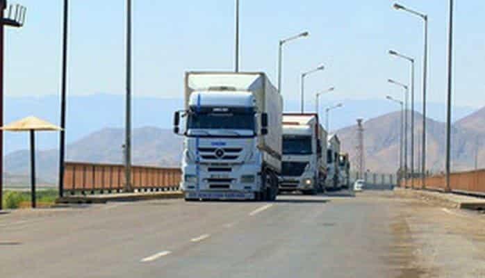 Naxçıvana Bakı-Tbilisi-Qars dəmir yolu xətti ilə ilk dəfə yük daşınıb