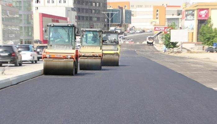 Ремонт на проспекте Бабека близится к завершению
