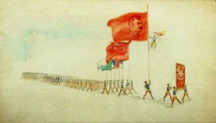 Работы азербайджанского художника-плакатиста Исмаила Ахундова (ФОТО)