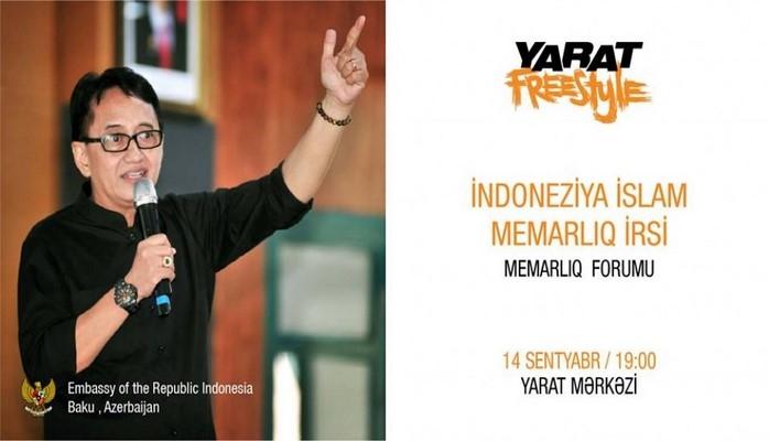 «YARAT» организует архитектурный форум
