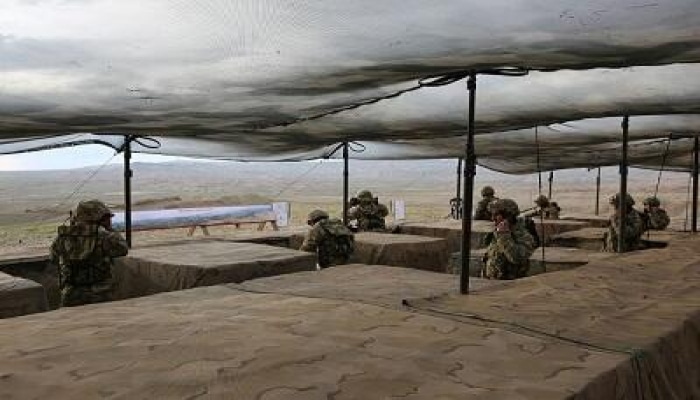 В Нахчыване прошло тактическое учение войск