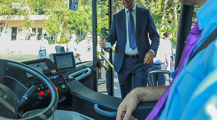 Bütün marşrut avtobusları kart sisteminə keçiriləcək