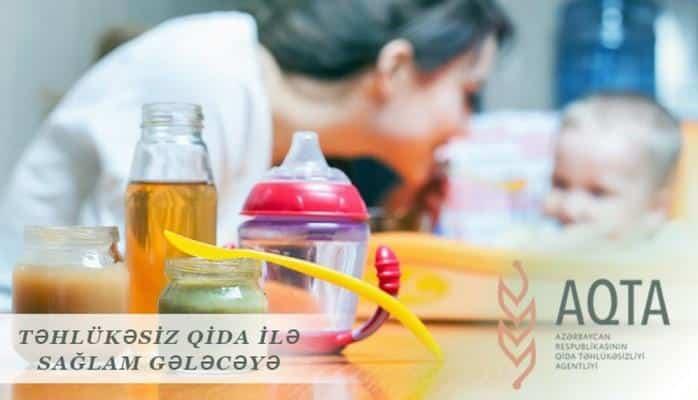 Qida Təhlükəsizliyi Agentliyi uşaq qidaları ilə bağlı maarifləndirici məlumat yayıb