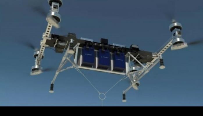 """""""Boeing"""" şirkəti ağır yükdaşıma gücünə malik nəhəng dron hazırlayıb"""