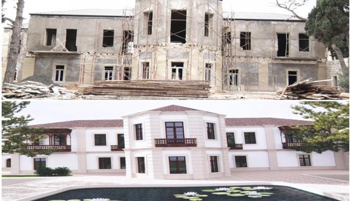 Heydər Əliyev Fondu Hacı Zeynalabdin Tağıyevin evini təmir etdirir