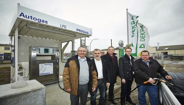 В Германии открылась АЗС со сжиженным газом