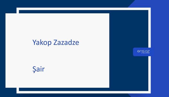 Yakop Zazadze