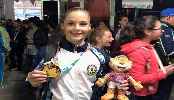 Елизавета Лузан: Горжусь, что привезла в Азербайджан золотую медаль