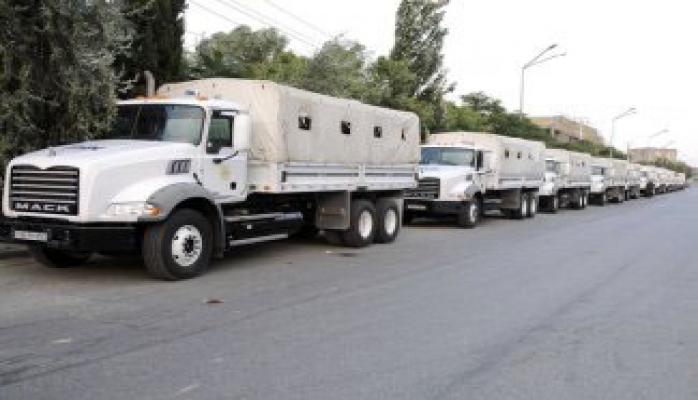 Турция продолжает доставлять гуманитарную помощь на север Сирии