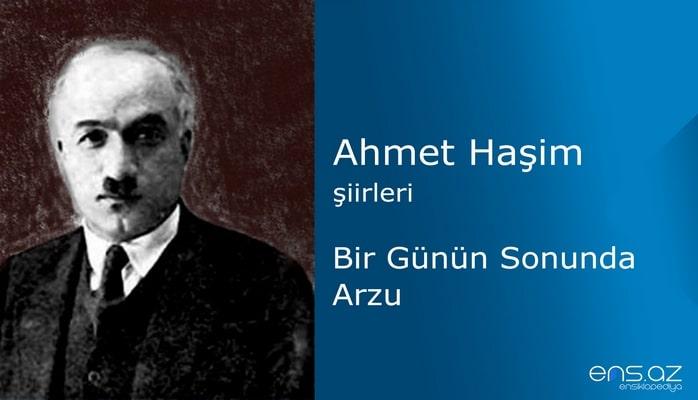 Ahmet Haşim - Bir Günün Sonunda Arzu