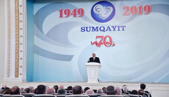 Президент Ильхам Алиев: После ухода в 1987 году Гейдара Алиева со всех должностей Азербайджан был избран мишенью