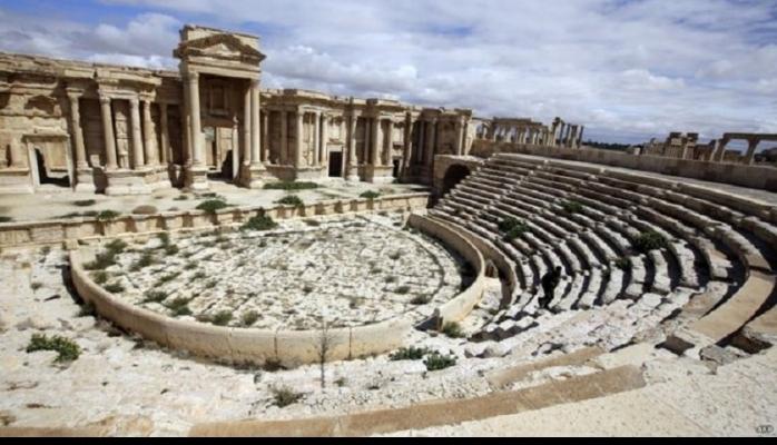Qədim Palmira xarabalıqları