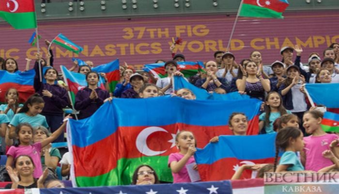 В Баку стартует шестой день XXXVII Чемпионата мира по художественной гимнастике
