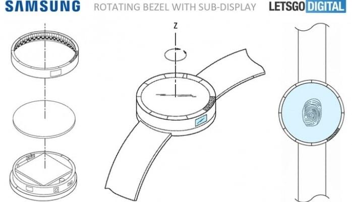 Yeni Samsung Gear S4 daxili batareya və barmaq izi oxuyucusu ilə olacaq