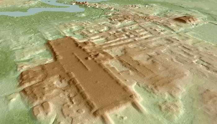 Bilinen En Büyük ve En Eski Maya Anıtı Bulundu