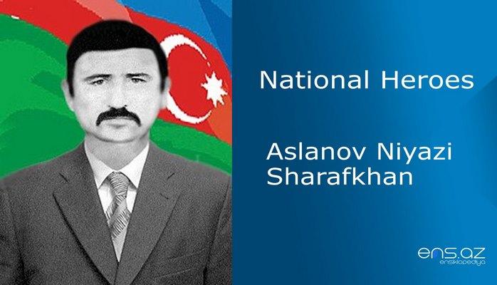 Aslanov Niyazi Sharafkhan