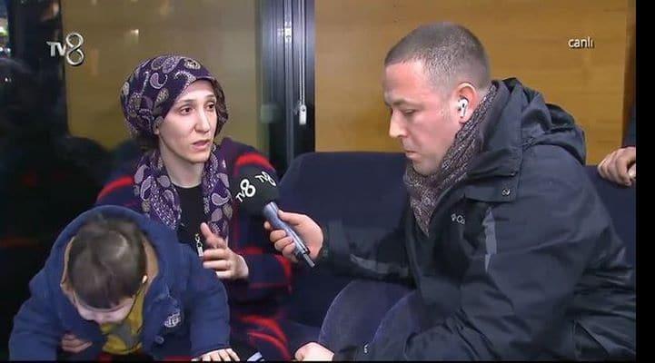 Азербайджанка, выжившая после землетрясения в Турции