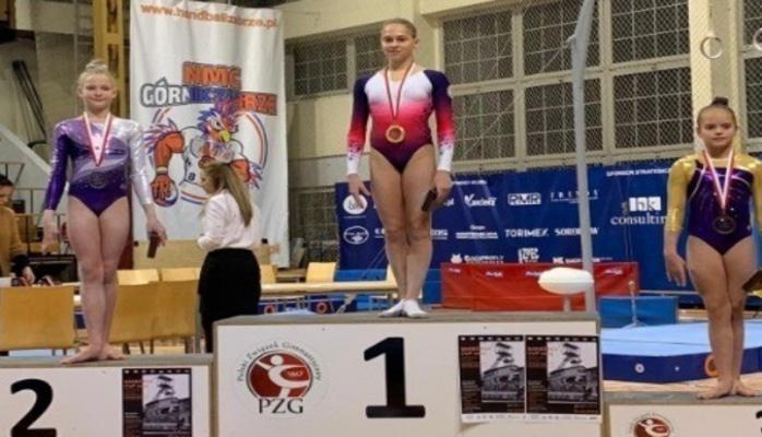 Azərbaycanın qadın idman gimnastları beynəlxalq turnirdə 2 medal qazanıblar