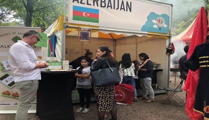 Азербайджан принял участие в фестивале посольств в Нидерландах