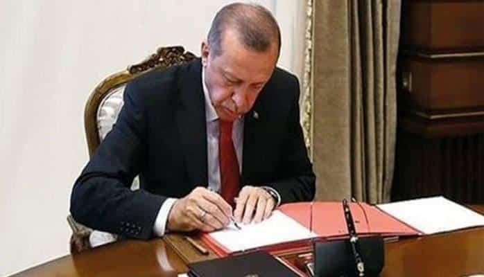 Erdoğan imzaladı! Atama ve görevden alma kararları Resmi Gazete'de