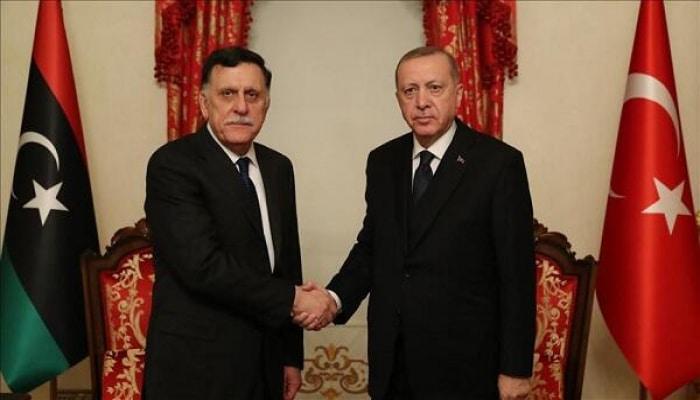 Эрдоган принял главу ПНС Ливии