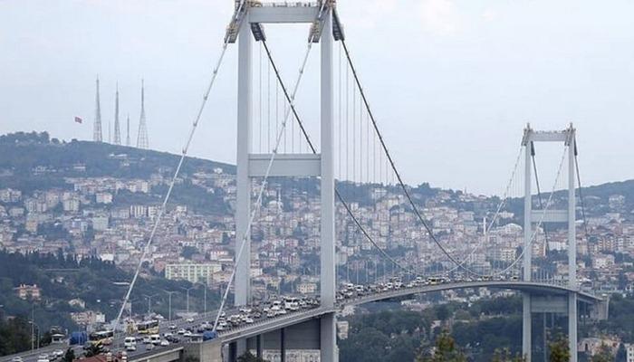 15 Temmuz Şehit Köprüsü 2 şeride düşüyor