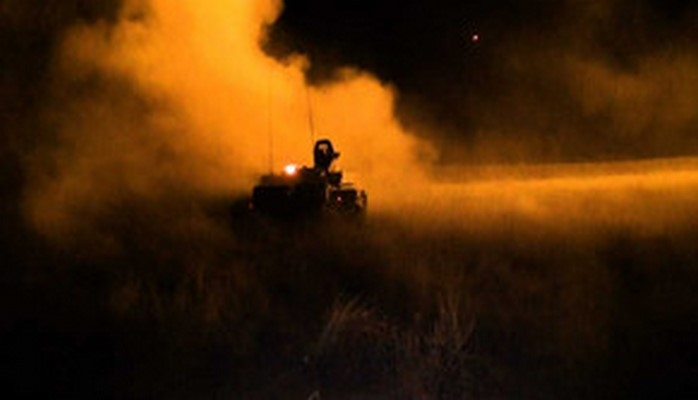 Azərbaycan ordusunun genişmiqyaslı təlimlərində gecə vaxtı döyüş atışları keçirilib