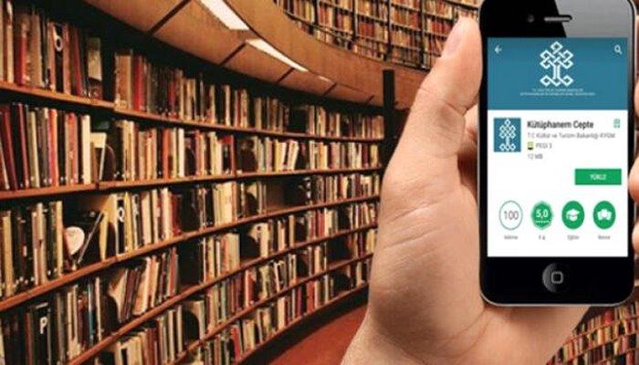 """""""Kütüphanem Cepte E-Kitap"""" uygulaması ile sesli kitaplara erişilebilecek"""