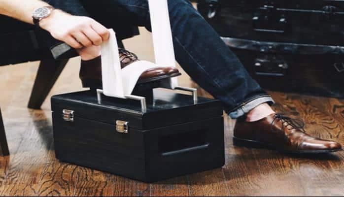 Rugan ayakkabı bakımında pratik yöntem