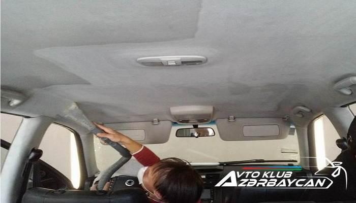 Avtomobilin dirək və tavan hissələrinin parça və plastik örtüklərini ucuz şəkildə necə təmizləmək olar?