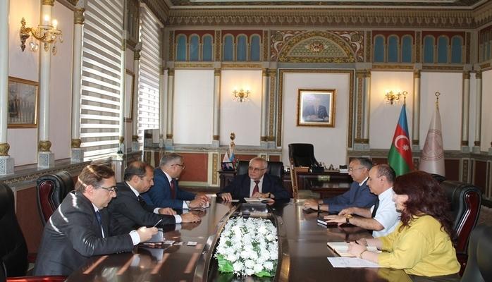 В НАНА состоялась встреча с представителями компании «Turkish Aerospace»