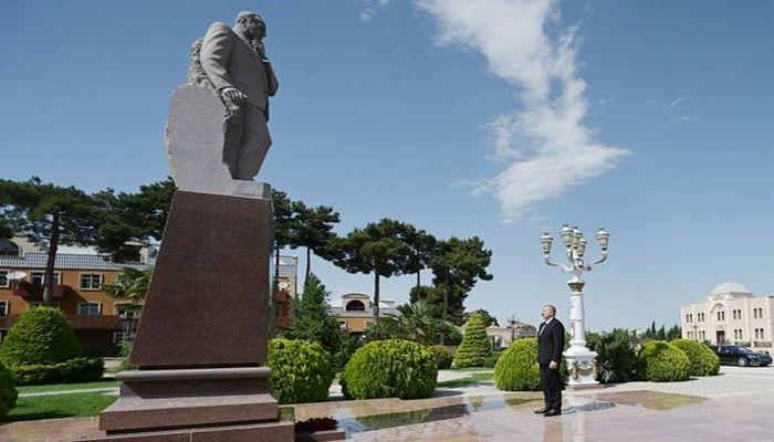 İlham Əliyev Ağcabədidə