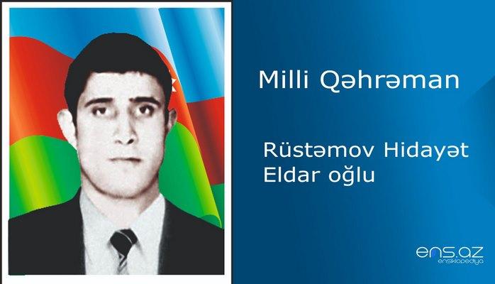 Hidayət Rüstəmov Eldar oğlu
