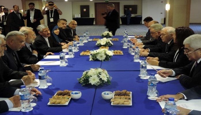 В Анталье состоялась встреча председателей парламентов Азербайджана и Ирана