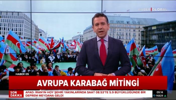 Avropada Xocalı soyqırımına həsr olunmuş Ümumavropa Qarabağ Mitinqi keçirilib