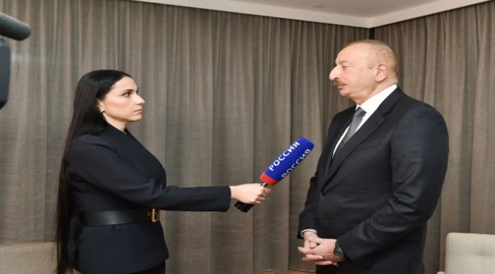 """""""Əlbəttə, bizi narahat edən məsələlər var"""" - İlham Əliyev """"Rosiya-24"""" kanalına müsahibə verdi"""