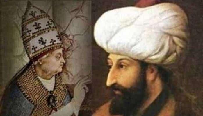 """Roma Papasının Sultan Fatehə """"xristian ol"""" təklifi və Sultanın şillə kimi cavabı"""