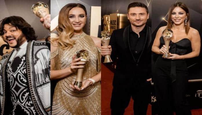Эмин наградил российских звезд