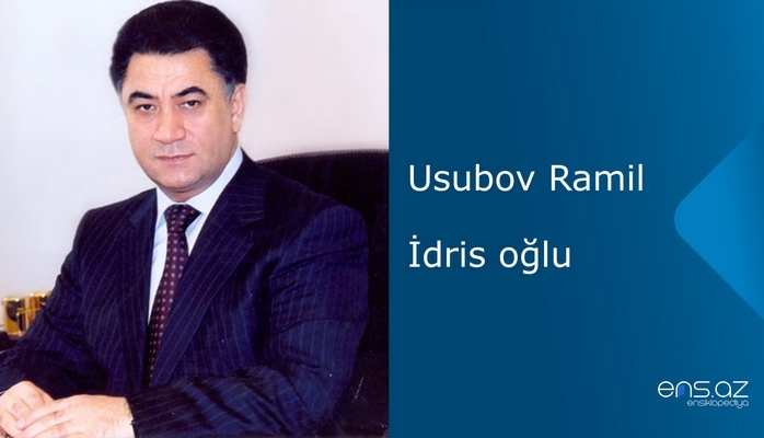 Usubov Ramil İdris oğlu