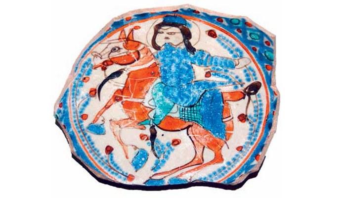 Найдено в Азербайджане: миниатюры на древней керамике (ФОТО)