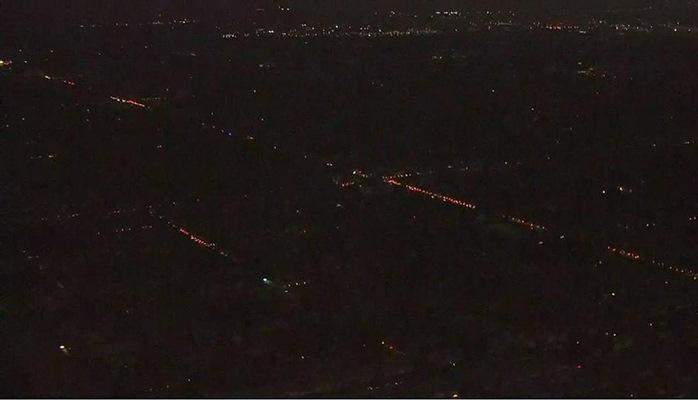 Yüksək temperatura görə Los-Ancelesdə minlərlə insan qaranlıqda qalıb
