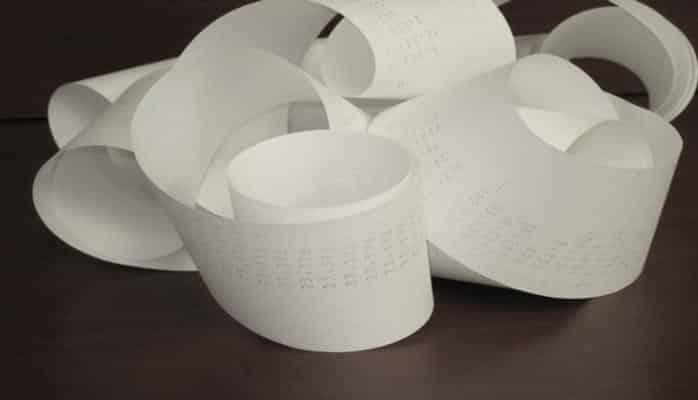 Ученые: Для печати кассовых чеков используют опасную для здоровья бумагу