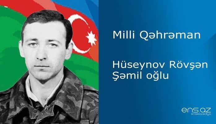 Rövşən Hüseynov Şəmil oğlu