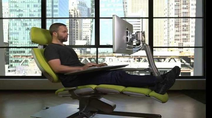 В США изобрели необычное офисное кресло