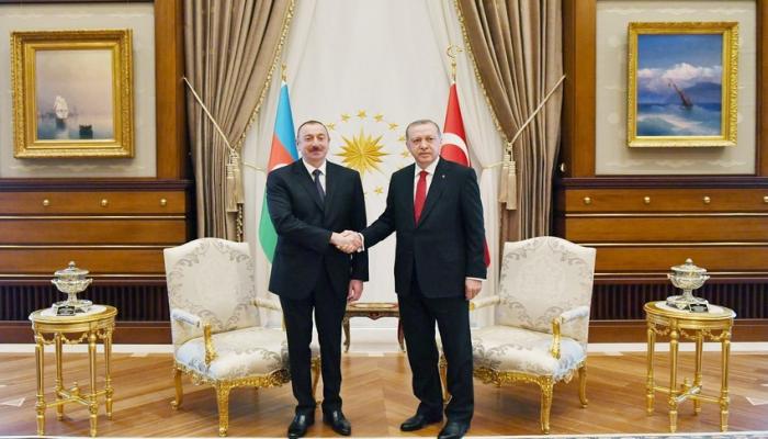 Эрдоган позвонил Ильхаму Алиеву