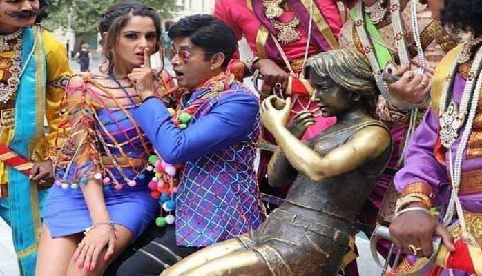 В Баку сняли индийский фильм