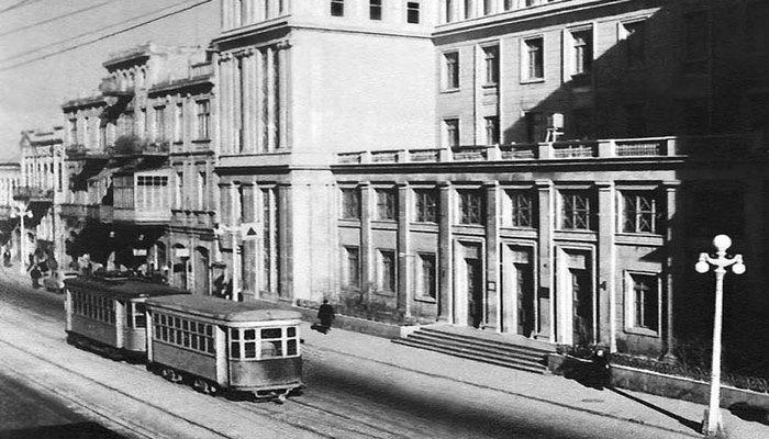 Бакинский трамвай в 1940-е годы (20 ФОТО)