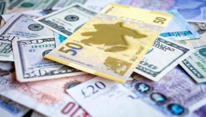 Курс маната по отношению к мировым валютам на 21 апреля