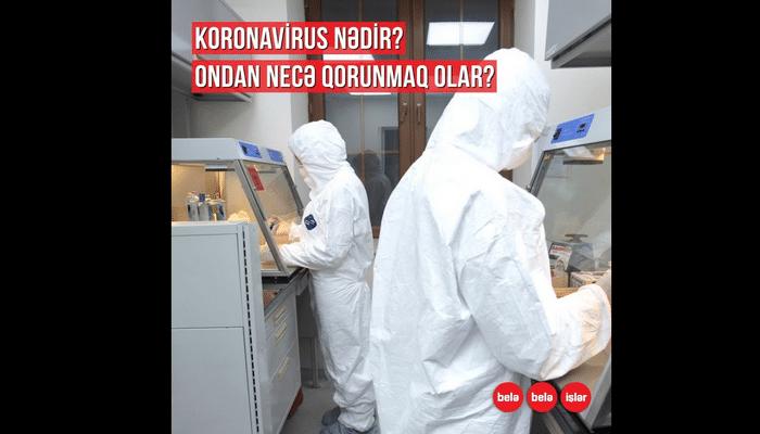 Koronavirus nədir? Ondan necə qorunaq?